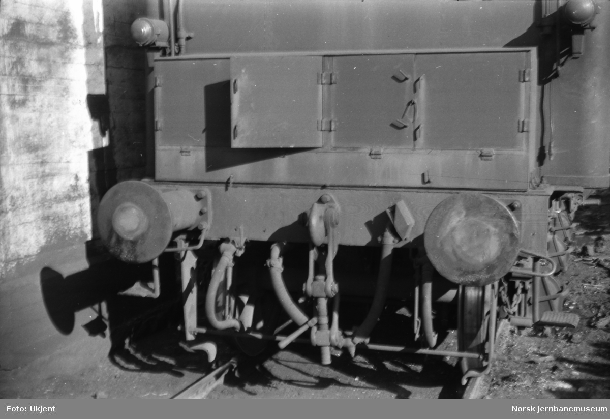 Damplokomotiv type 39a nr. 168 - tender