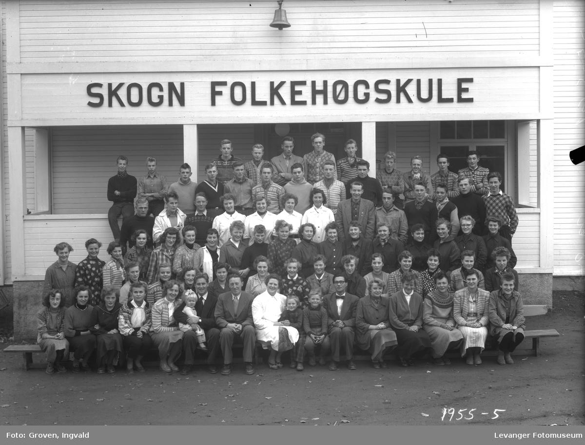Skolebilde, Skogn folkehøgskole