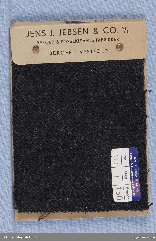 Prøvehefte med 4 prøver Frakk Kvalitet 5956 Melert