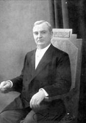 Johannes Alfred Hultman.Född 1861Död 1942.Predikant och s