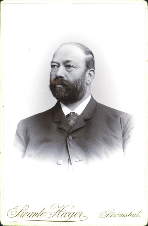 Porträtt av Olof Martin Pejlitz