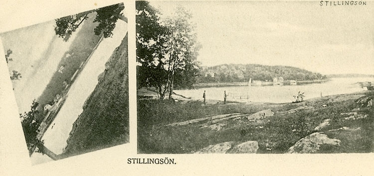 """Enligt Bengt Lundins noteringar: """"Stillingsön. 2-bild"""""""