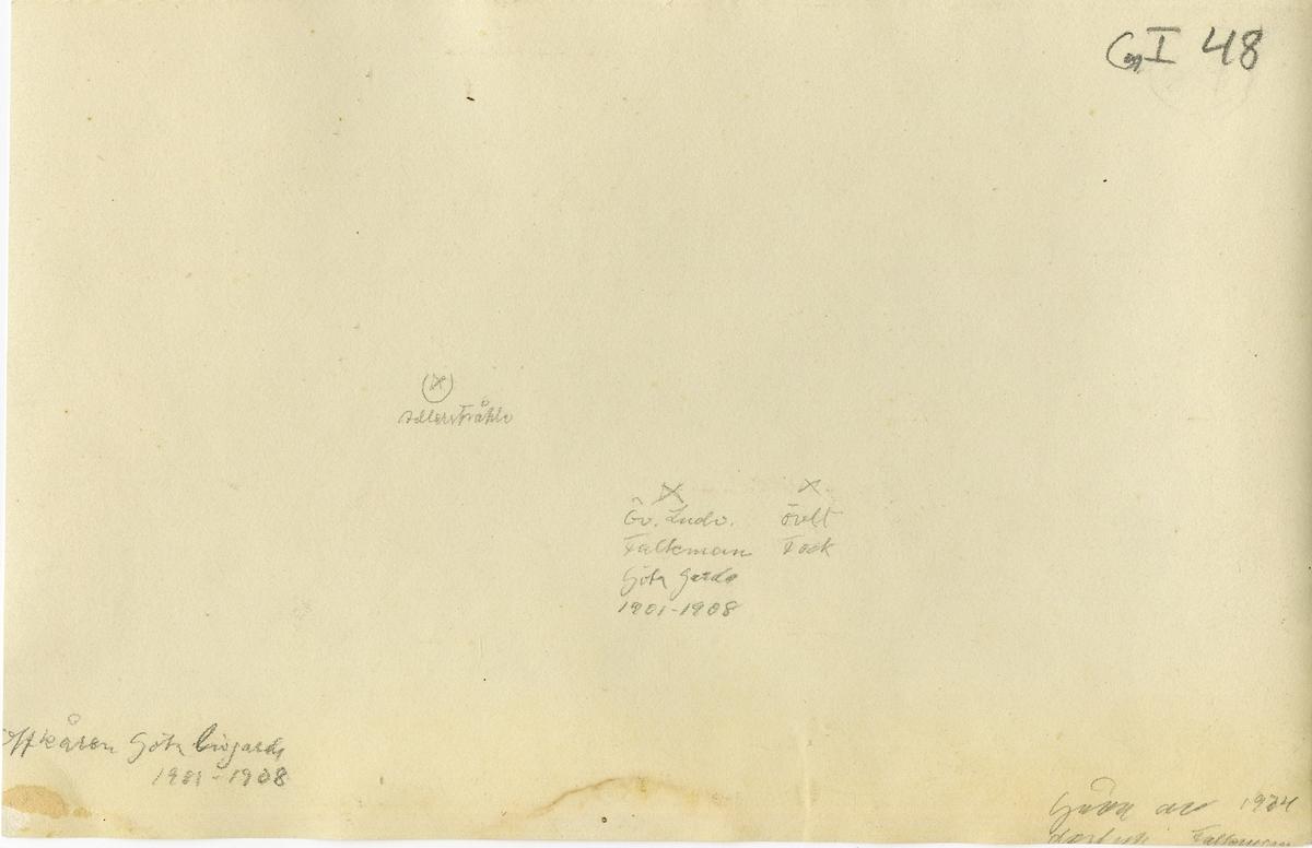 Grupporträtt av officerskåren vid Göta livgarde I 2, 1901-1908.