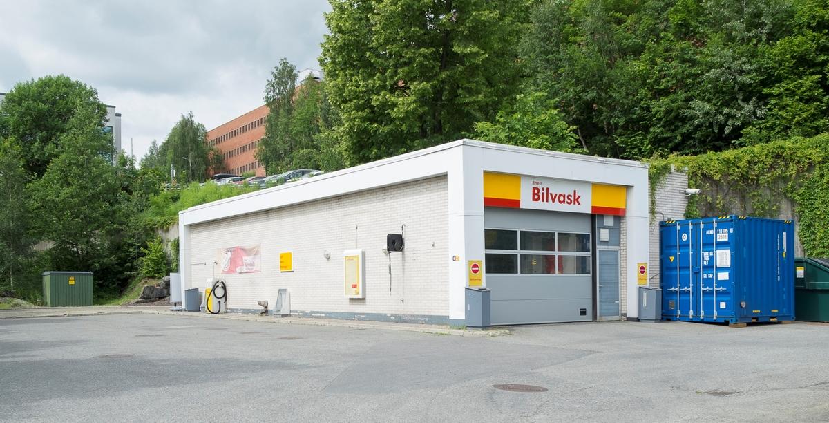 Shell bensinstasjon Solbråveien Asker