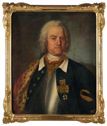 Officersporträtt [Oljemålning]