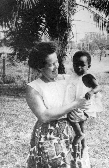 Clara Lindberg, var svensk missionär i Afrika.