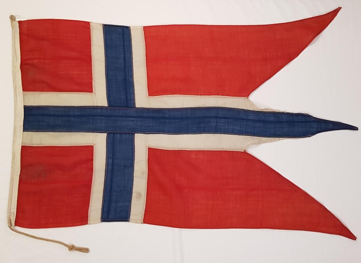 Norsk splittflagg.