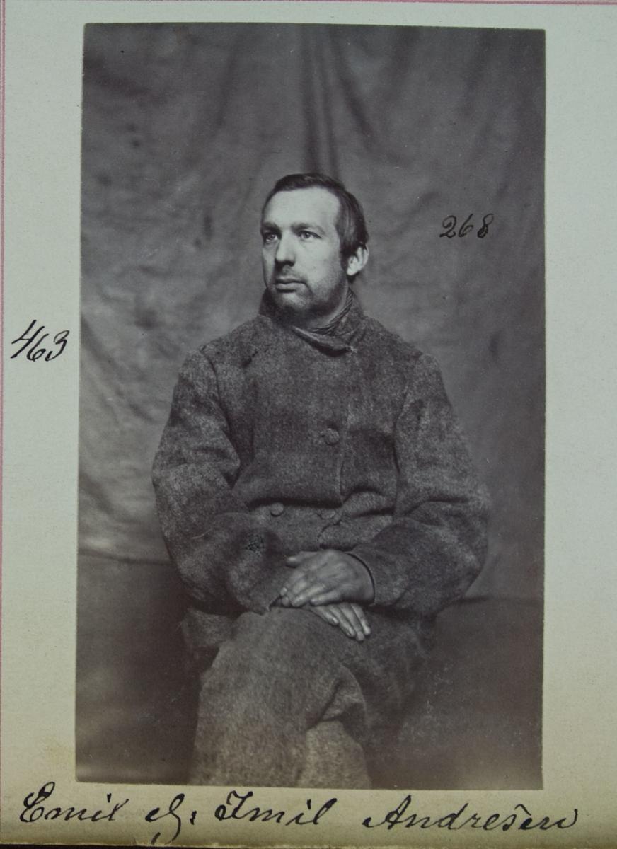 Fangeportrett, Emil eller Imil Andresen