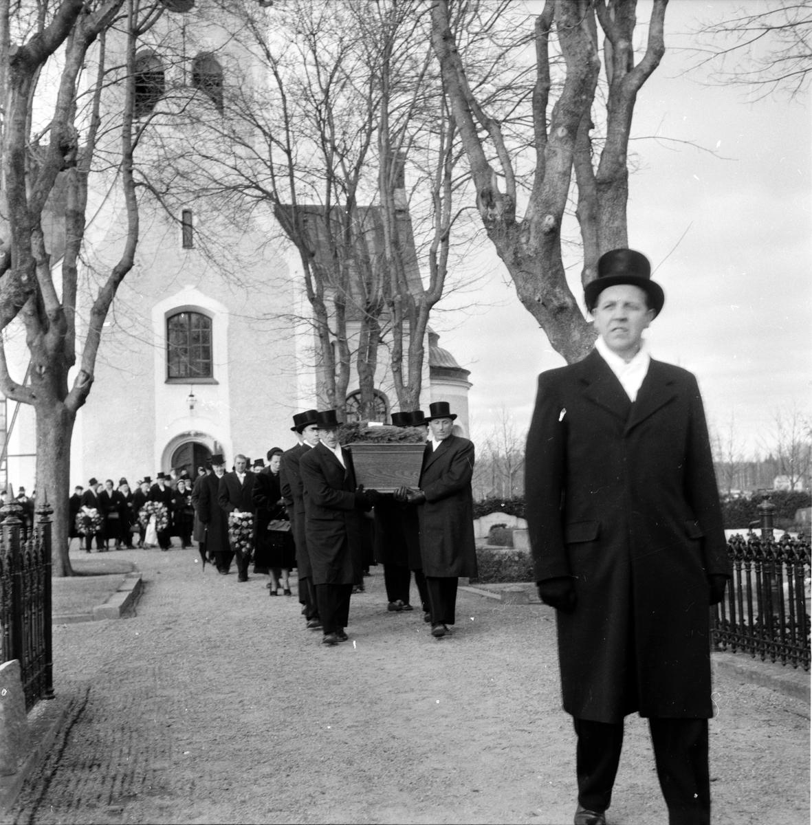 Granqvist David, prost, begravning, 1959