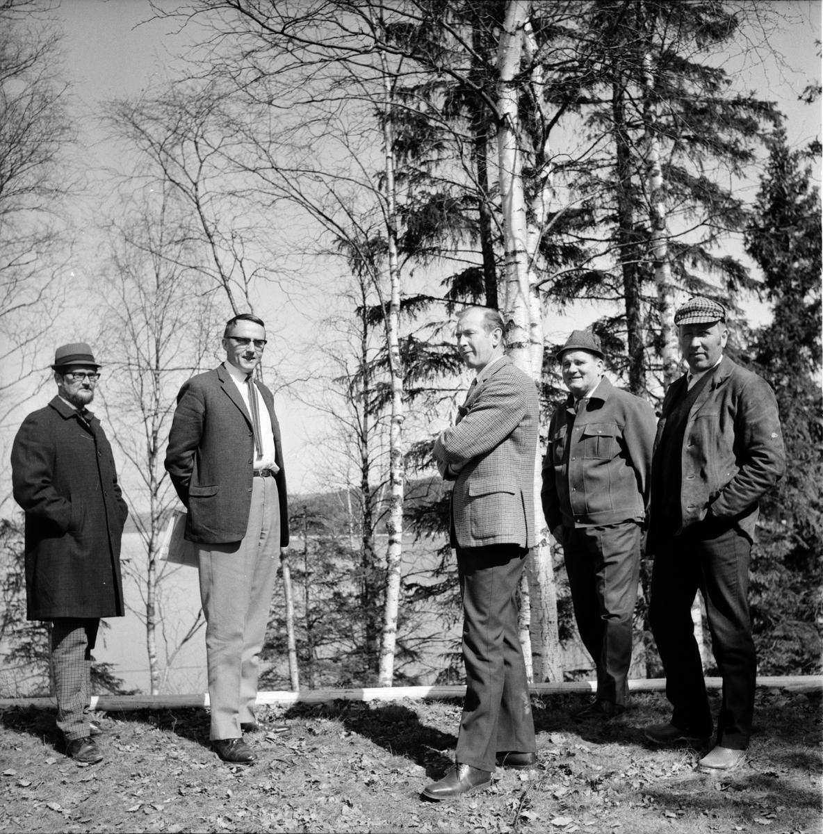 Arbrå, AMS ser på Orbadenområdet, Maj 1969