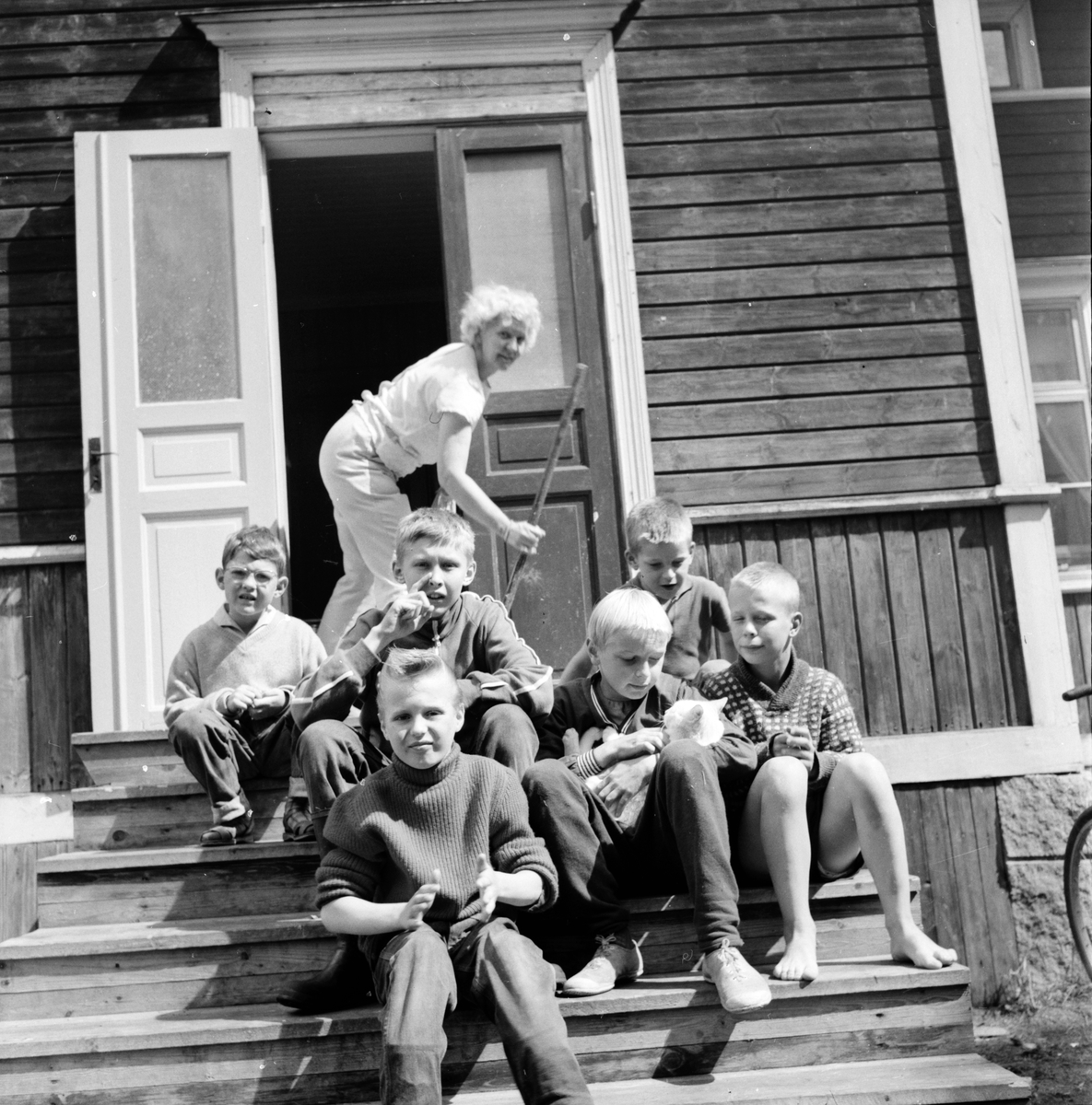 Arbrå, Barnkoloni, Öjungsbo, 5 Juli 1962