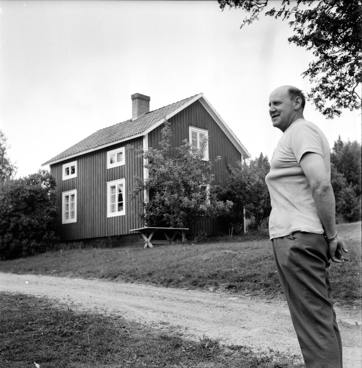 Undersvik, Ljusberg, Fluren, Juli 1971