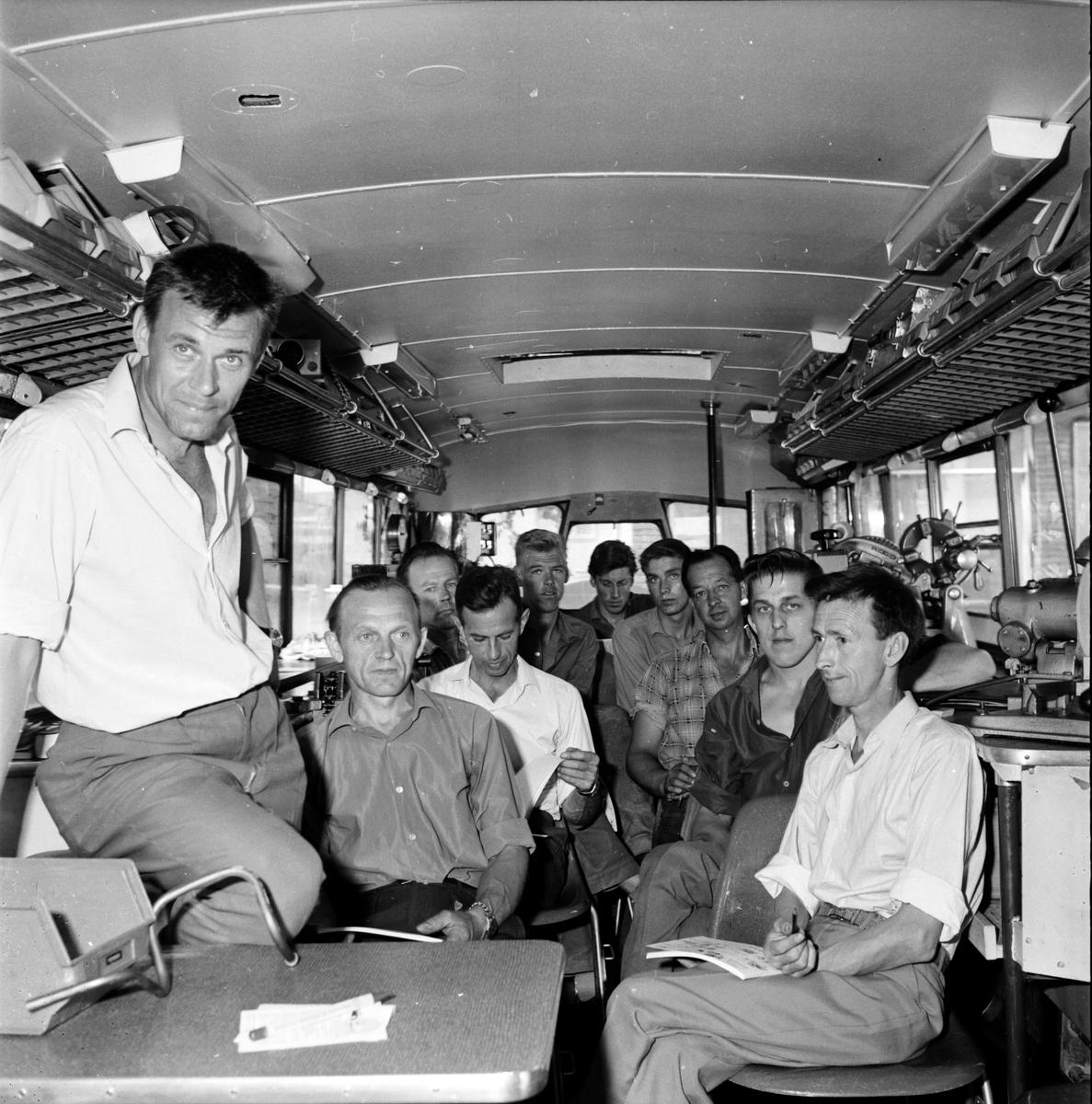 Utbildningsbuss för VVS-tekniker, 20 Juni 1966