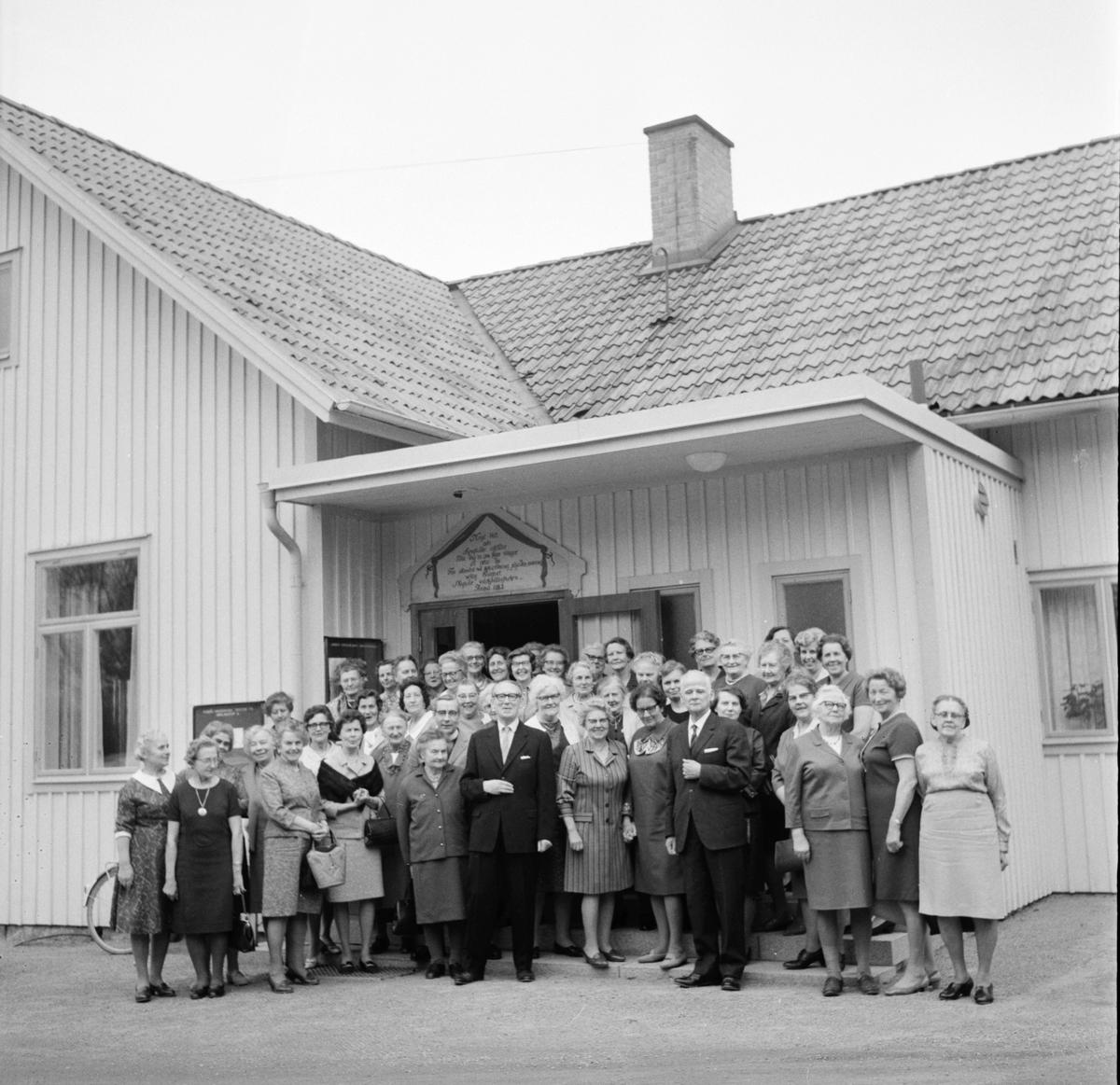 Arbrå, Sykretsdag i sockenstugan, 8 Maj 1969