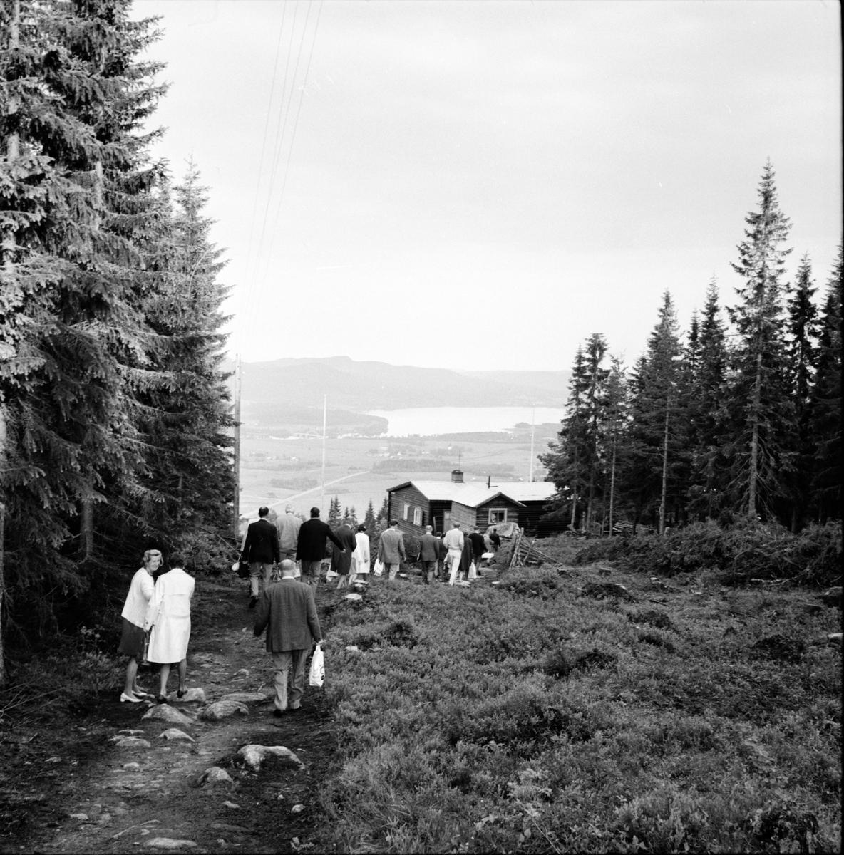 Arbrå, Lions på åsberget, Juni 1969