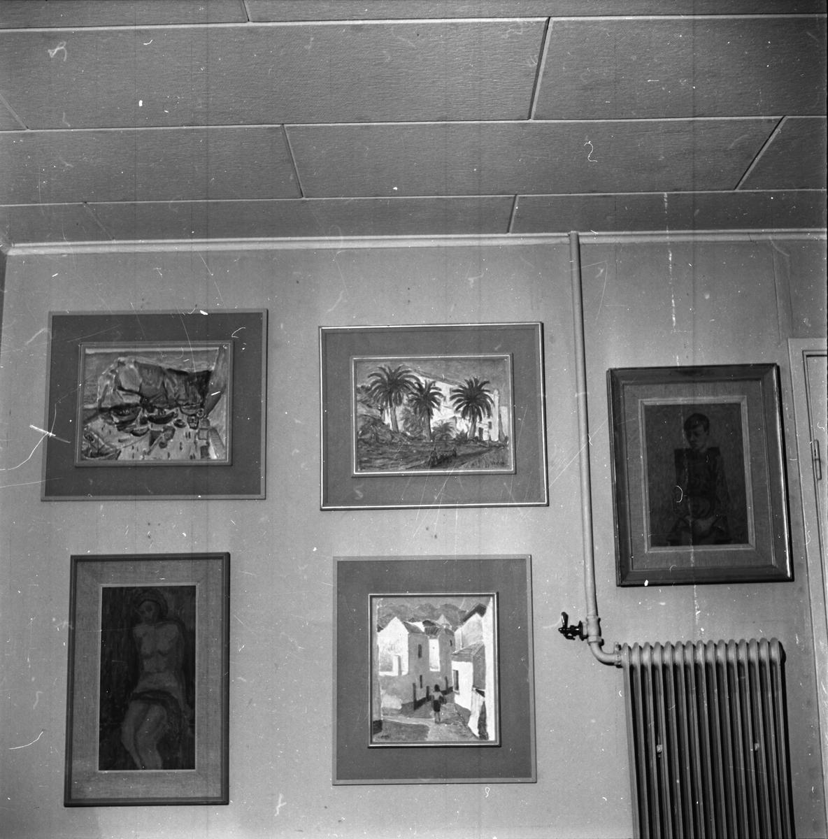 Clahr Emil,Konstnär Edsbyn 3 jan 1960