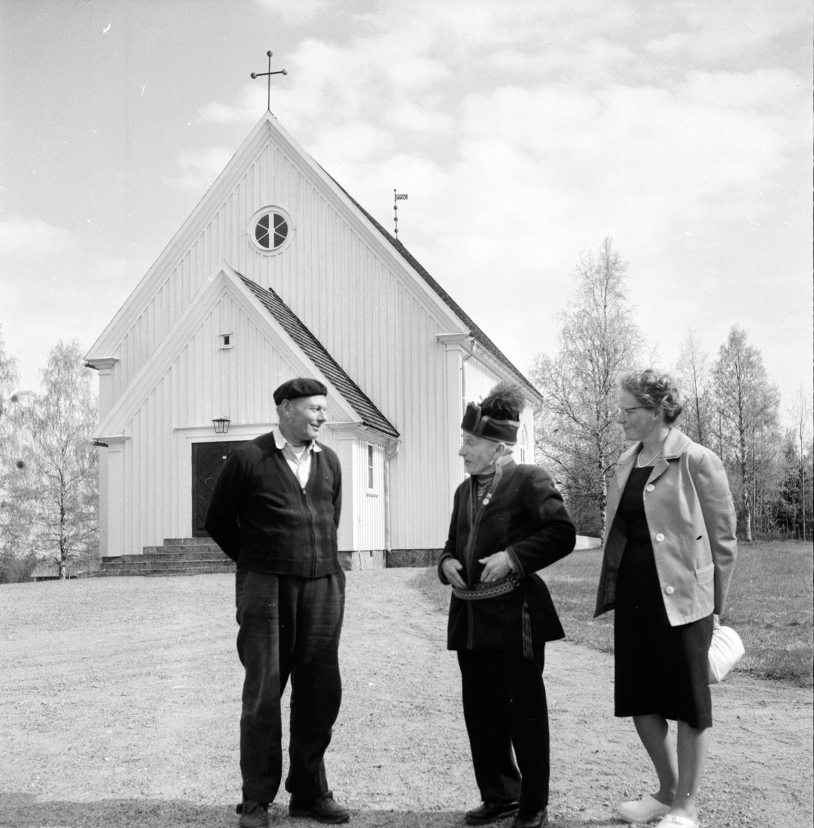 Gruvberget. Othzon, Thomasson, Ivar Jonsson. 30/5-1961