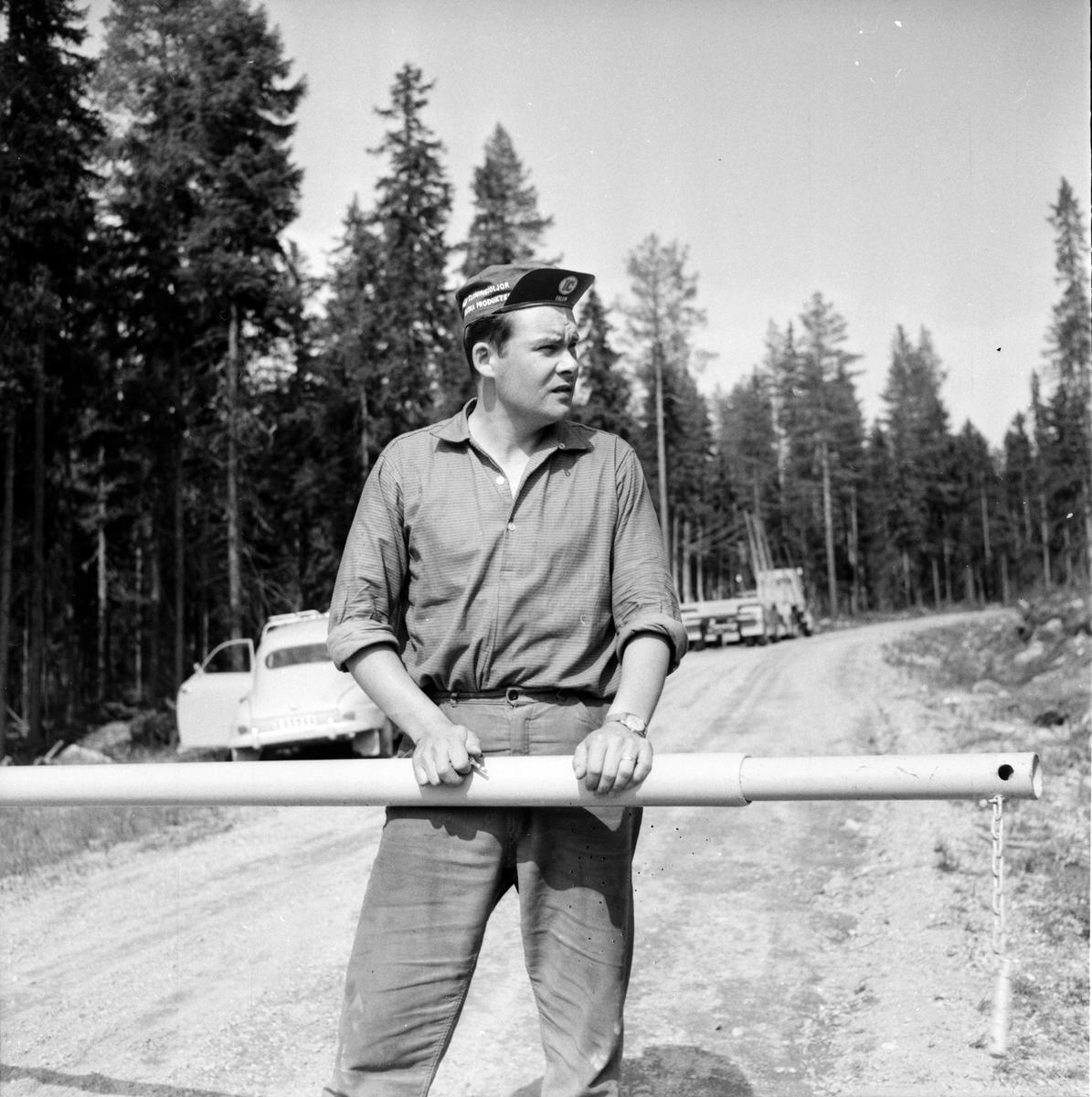 Gruvberget. Othzon, Thomasson, Iver Jonsson 30/5-1961