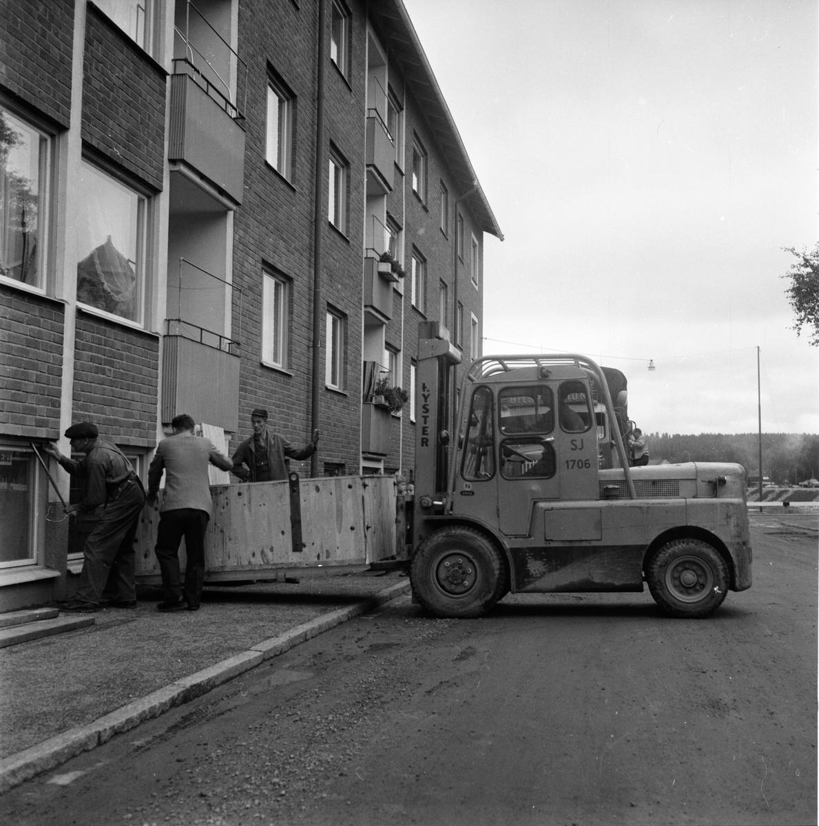 Nyströms tryckeri. 14/9-1961