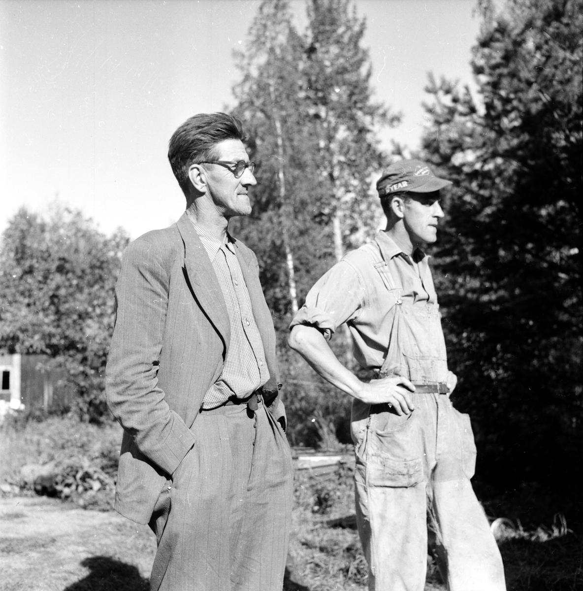Bergman Bertil, Åskbrand, 7 Aug 1956
