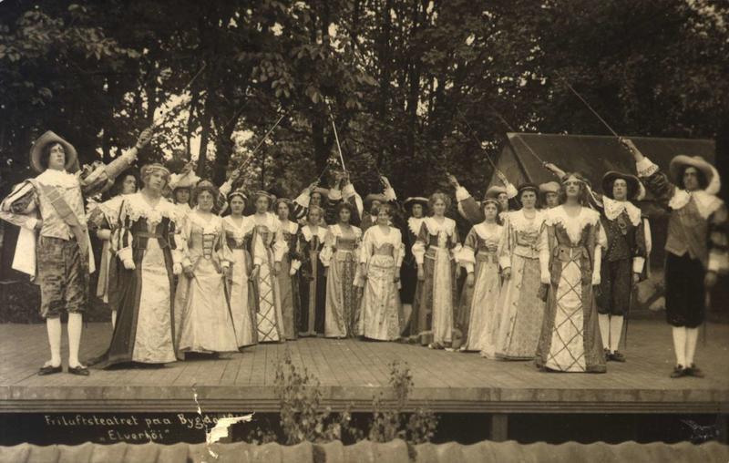 Friluftsteater 1911.