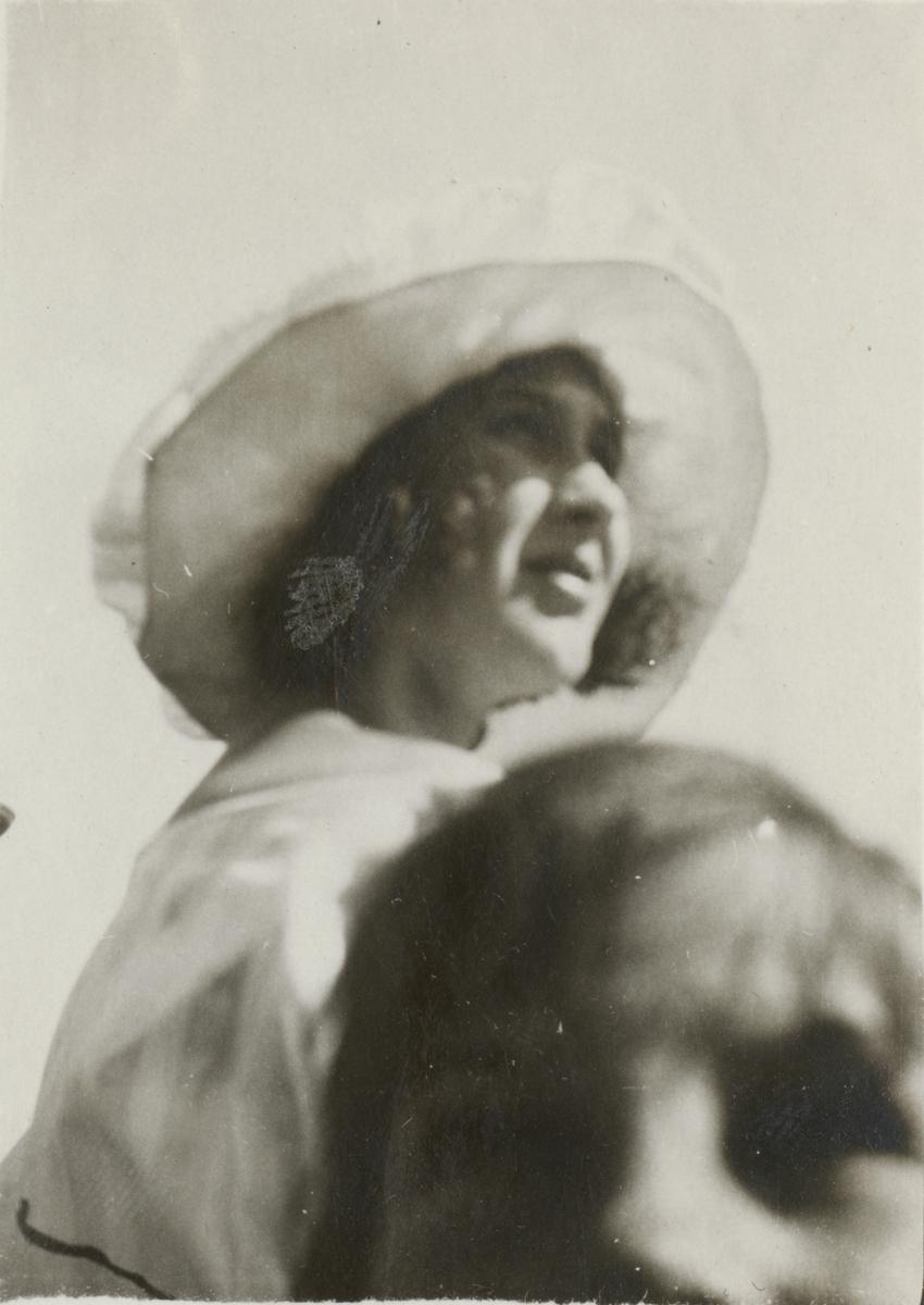 Porträtt av en okänd kvinna.