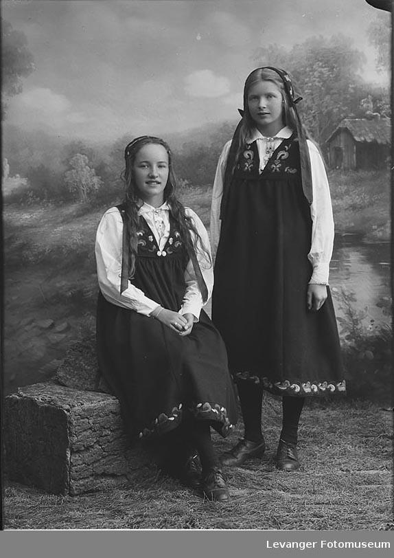 Portrett Gjestfrif og Dagrun Nordeid.Portrett