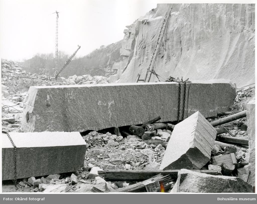 Ämne till pappersvals av granit som tillverkades i Rixö, den fraktades till Göteborg och därefter till ett pappersbruk i Skottland (troligen Aberdeen)