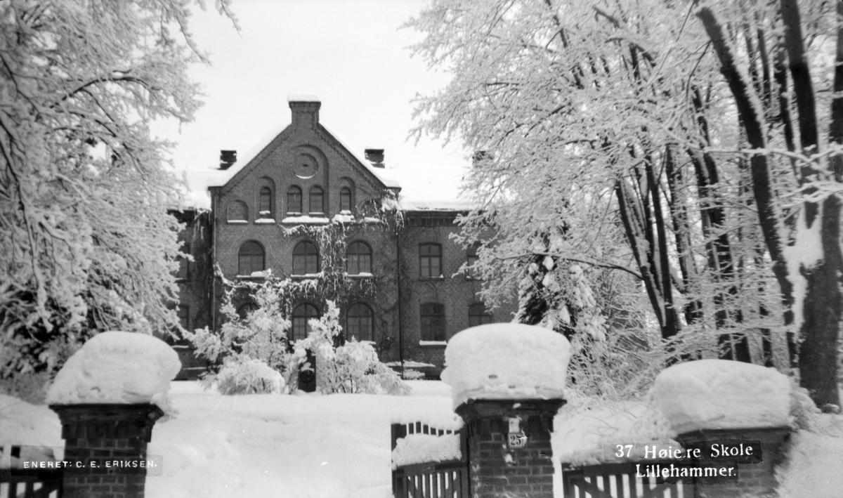 Den Høyere skole på Lillehammer.