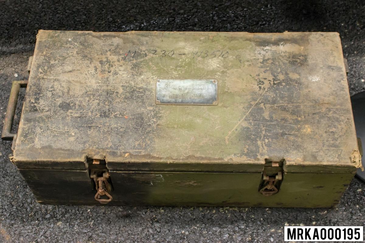 Tillbehörslåda 15 cm kanbatt