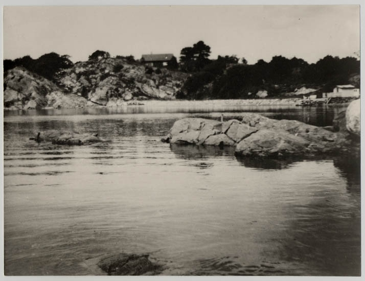 Sörviks herrgårds strand på 1930-talet