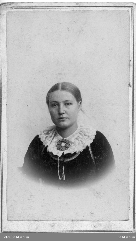 Portrett av Anne Heiberg Bergskås