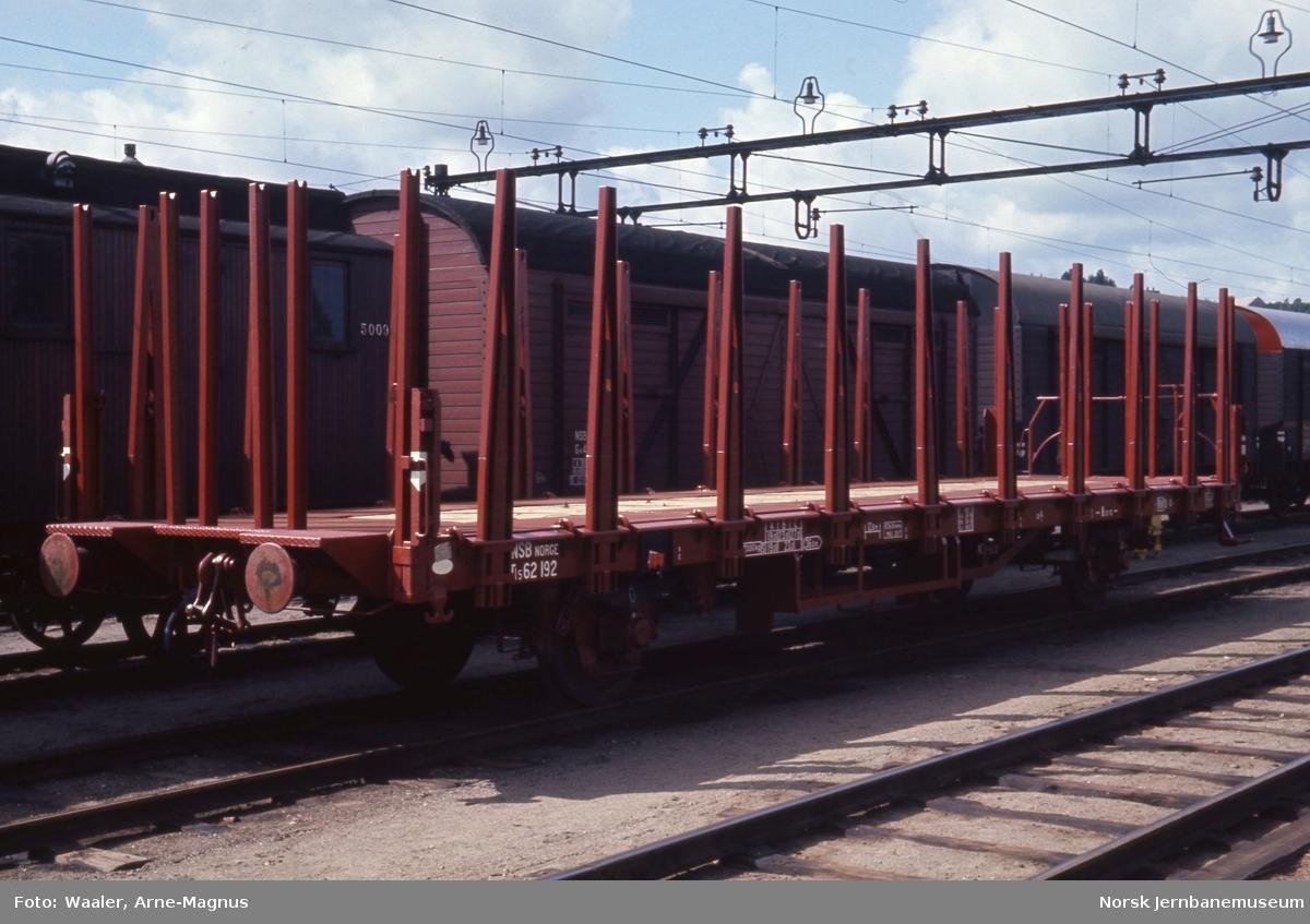 Ny godsvogn litra Tl5 nr. 62192