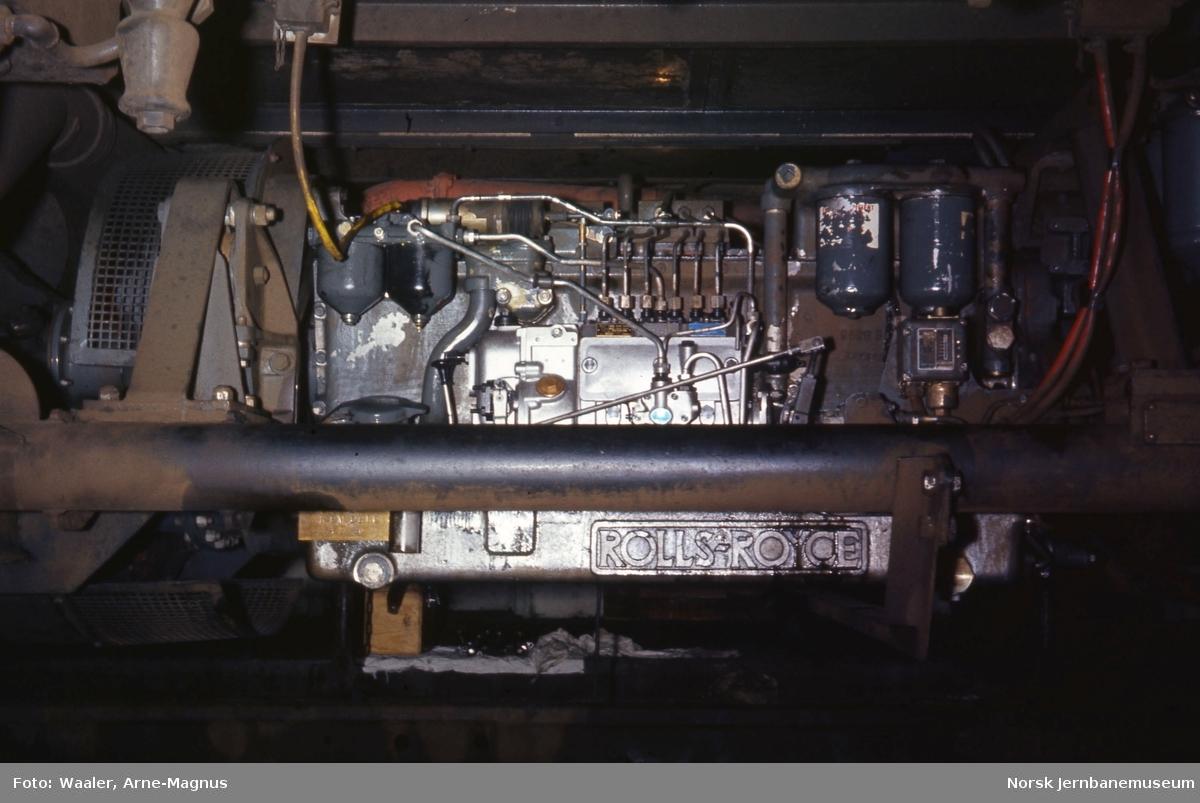 Rolls Royce-motor til motorvogn type 86/91
