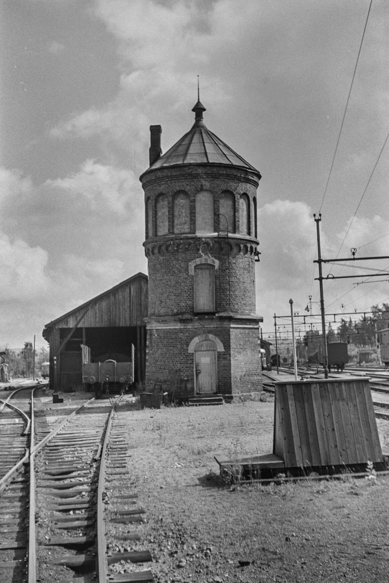 Vanntårnet på Kongsvinger stasjon.