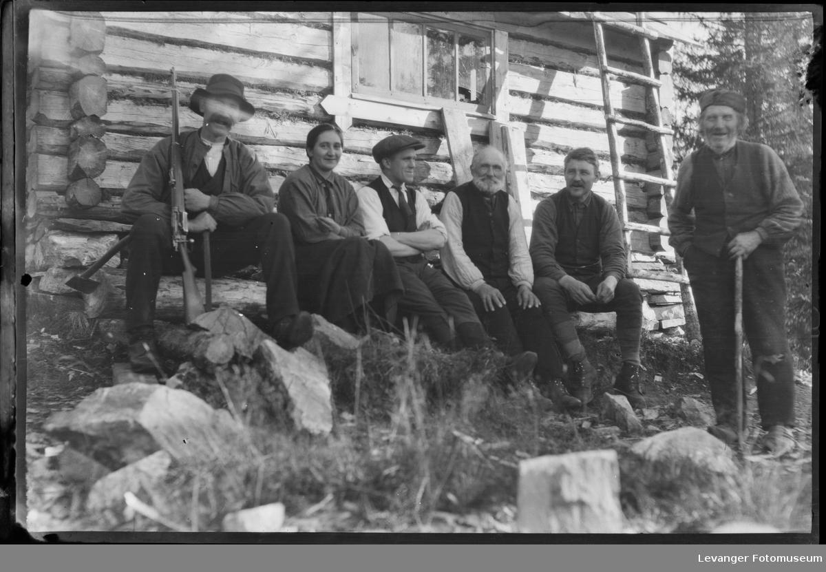 Jegertreff i Ogndalen , Karl Lullau i midten