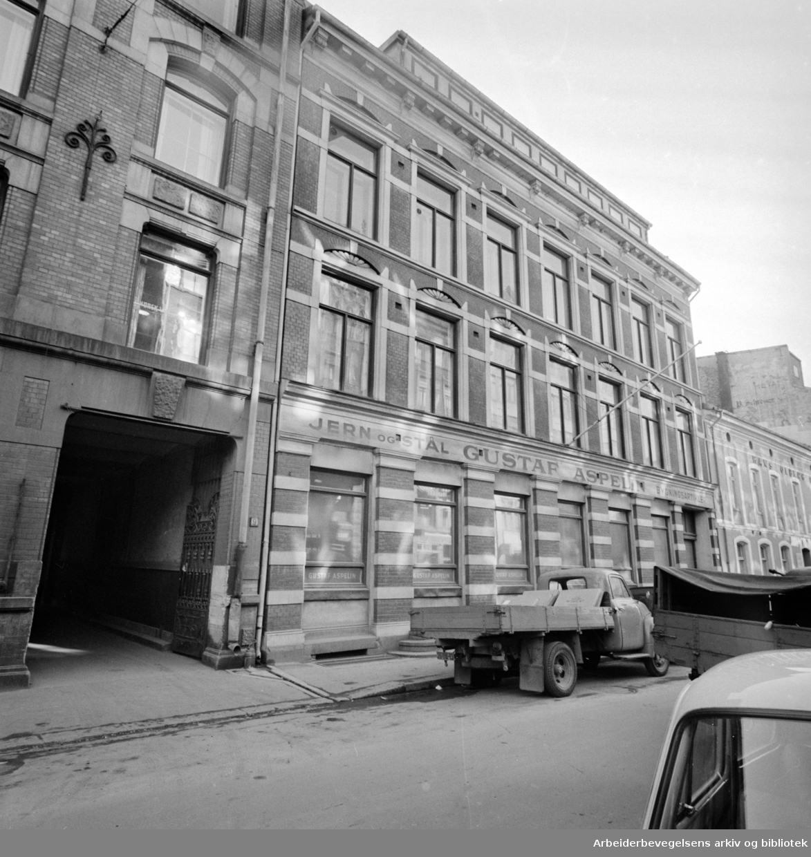 Stenersgata. Oktober 1963