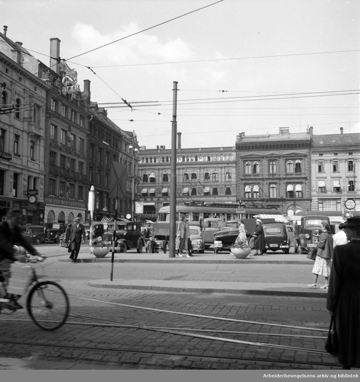 Stortorget. Juni 1953