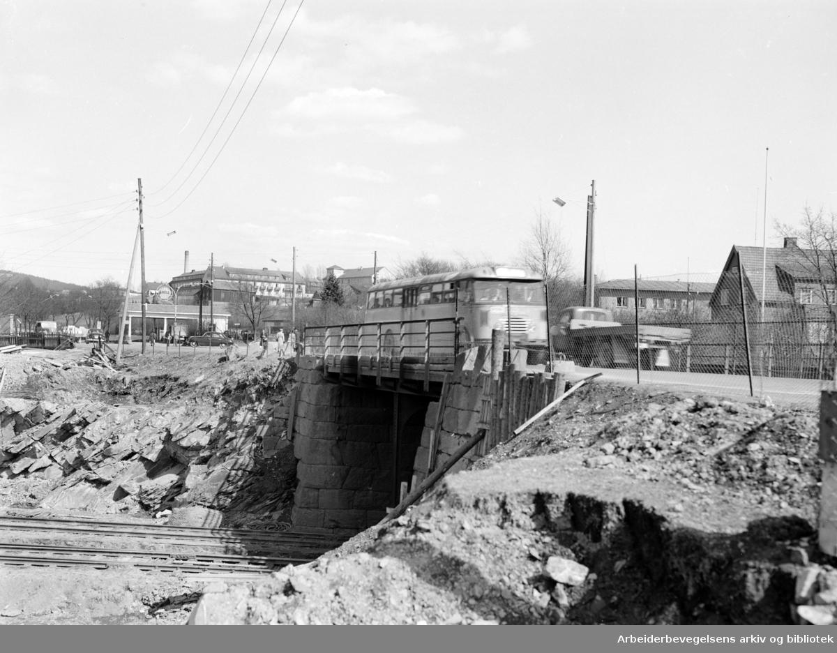 Sinsenbrua.Mai 1955