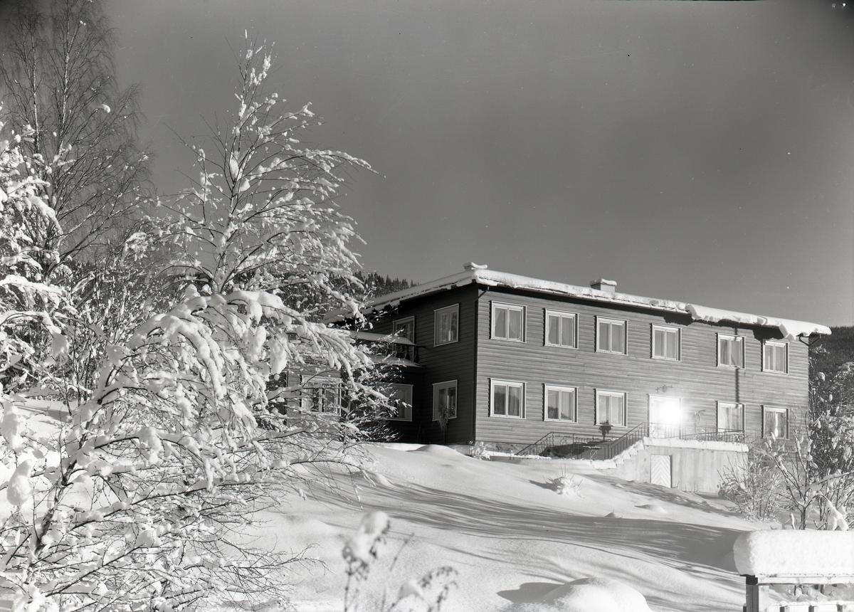 Hotellbygging på Ølken, Vestre Slidre.