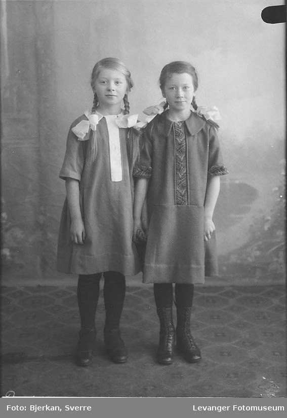 Portrett av Julie Skjerves Barn navn ukjent