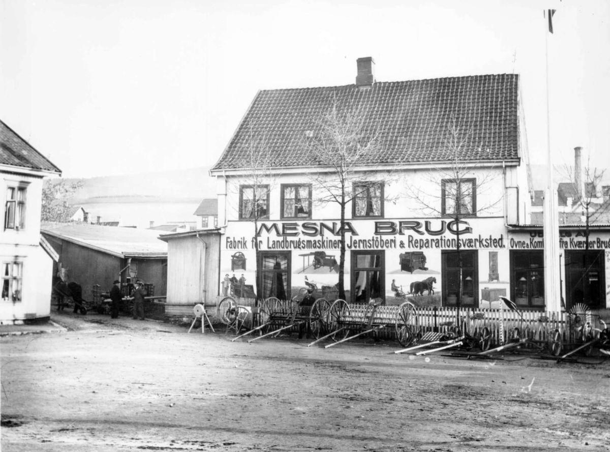Repro: Bygård i Lillehammer. Lilletorget 1, Mesna Brug.
