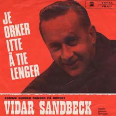 Vidar Sandbeck single nr. 20 (Foto/Photo)