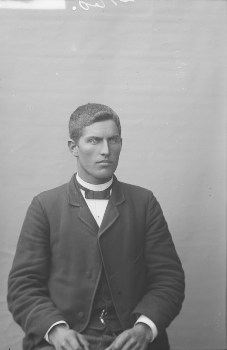 Portrett, brystbilde, Ditlef Strand