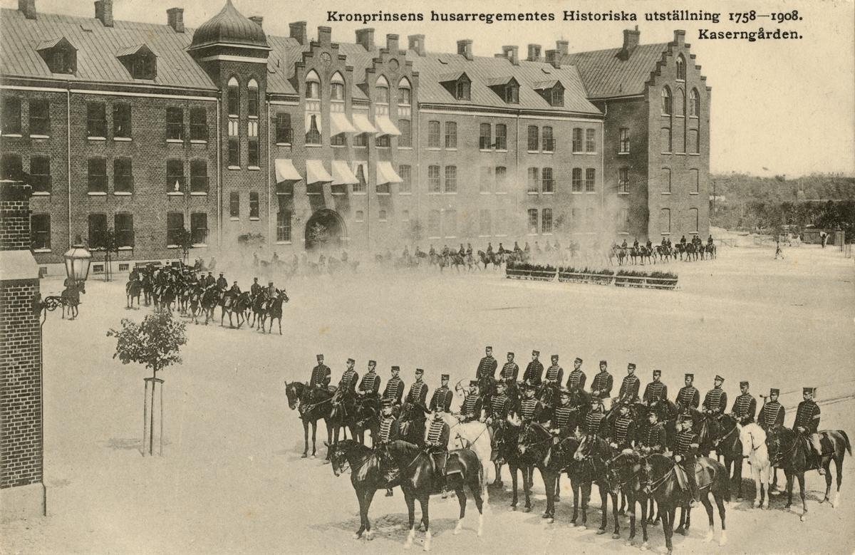 Kaserngården, Kronprinsens husarregemente K 7.