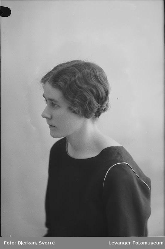 Portrett av Kristine Lyngstad
