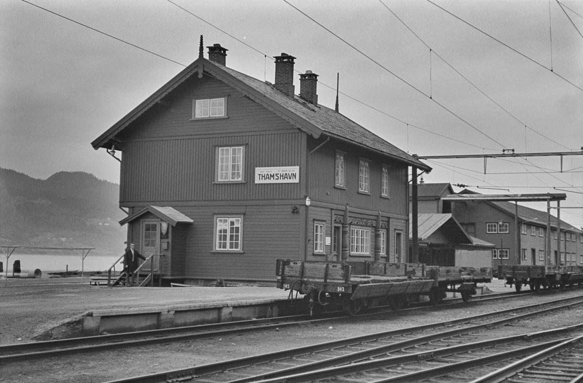Thamshavn stasjon.