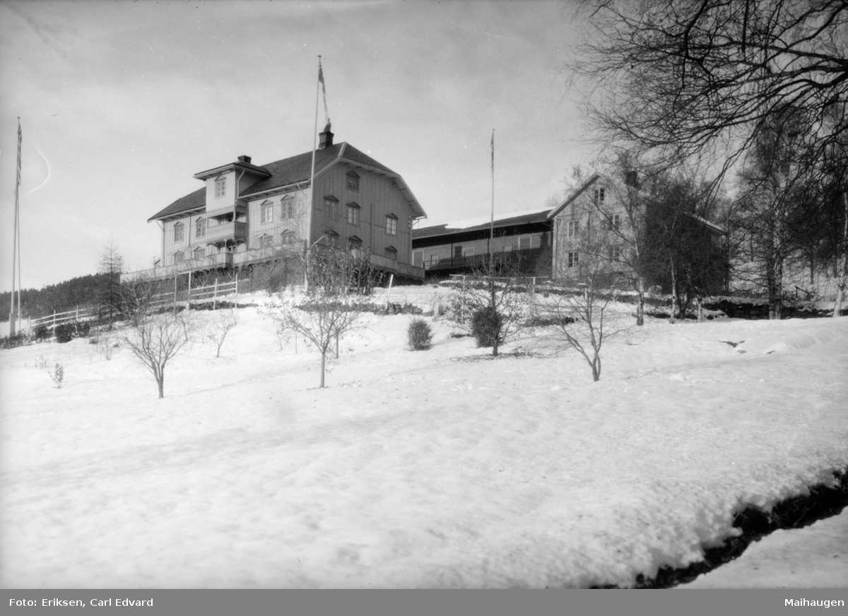 Karoline og Bjørnstjerne Bjørnsons hjem Auleatad.