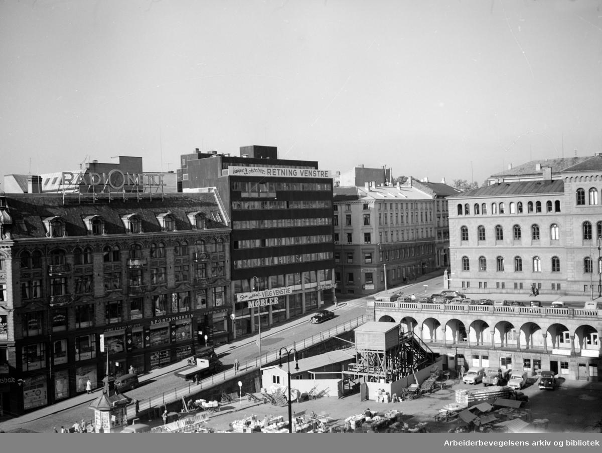 Venstres Hus. September 1955
