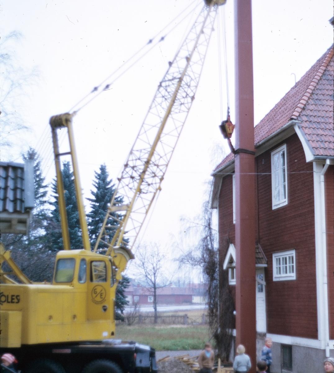 Alborga skola får ny skorsten, Valbo